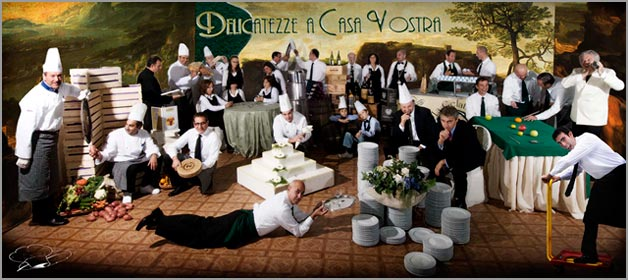 Delicatezze a Casa Vostra: the importance of a catering service with a wide experience on Northern Lakes