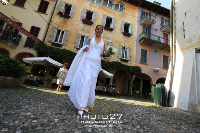 marriage in Orta Italy