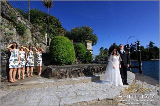 wedding planners in villa Rusconi Lake Maggiore
