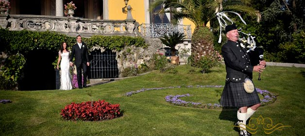 An Italian – Scottish wedding on Lake Maggiore