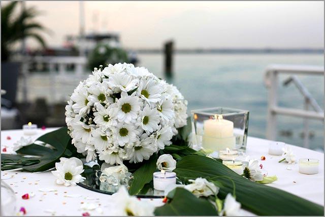 wedding florist in Sirmione lake Garda
