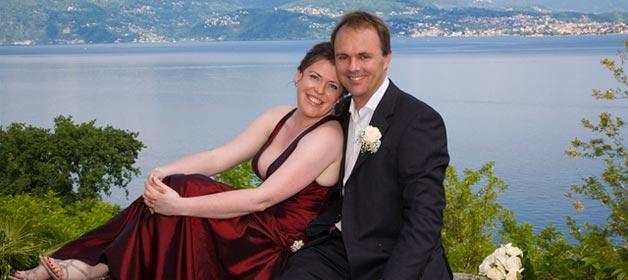 Helen and Matthew's Outdoor wedding in Villa Margherita