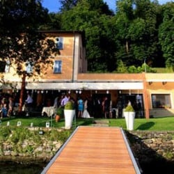 A magic venue for a wedding on Orta Lake Shores