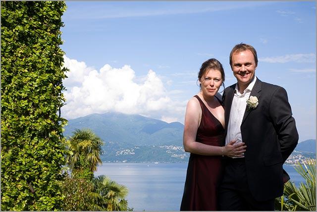 open wedding in Villa Margherita lake Maggiore