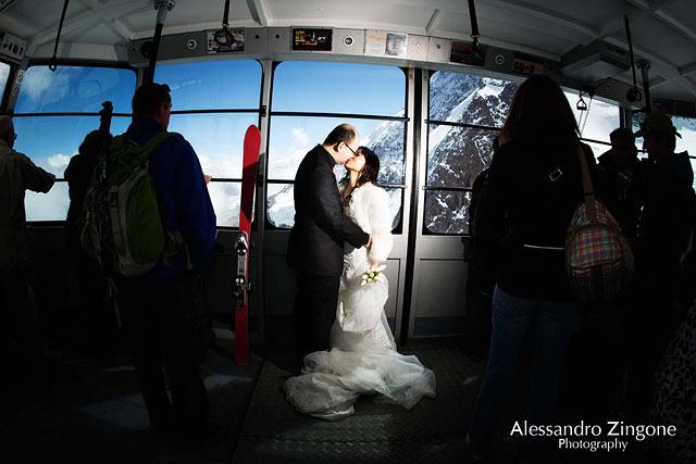 wedding photographer in Zermatt