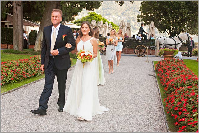 wedding photographer in villa d'este lake Como
