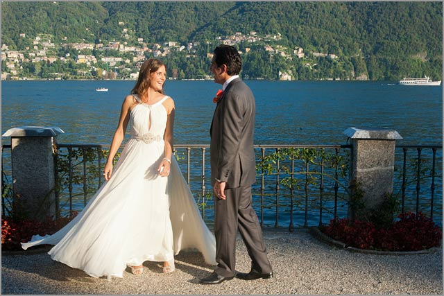 wedding at villa d'este