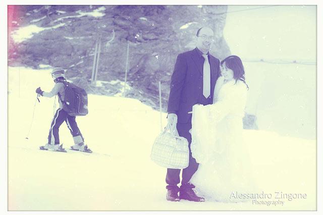 wedding photographer in Zermatt Switzerland