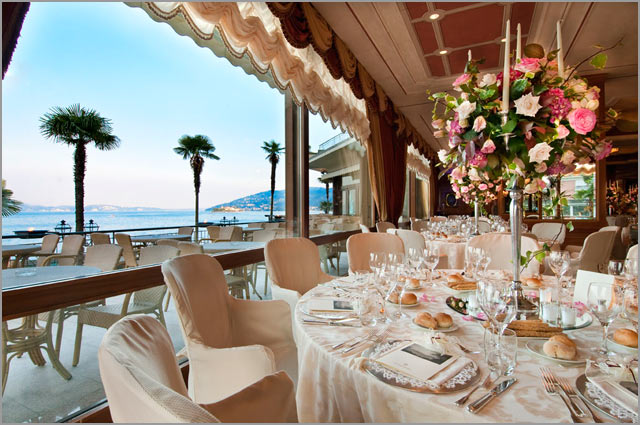 marriage to Grand Hotel Dino Baveno lake Maggiore
