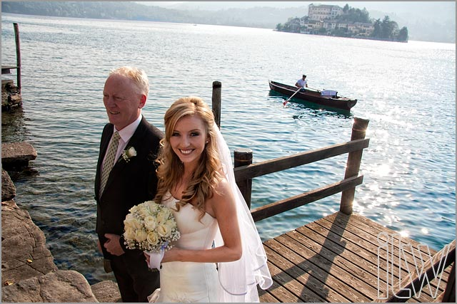 September weddings on Lake Orta Italy