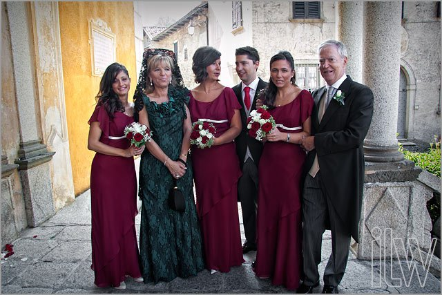 spanish wedding in Lake Orta Italy