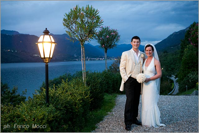 Irish wedding to Villa Ortea, lake Orta