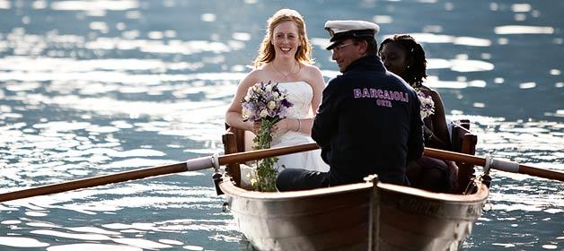 A wonderful young couple on Lake Orta