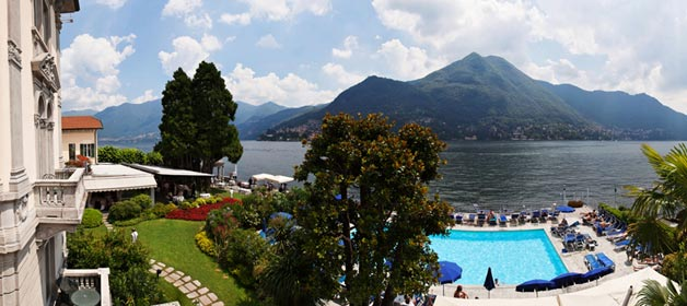 Like a royal wedding on Lake Como