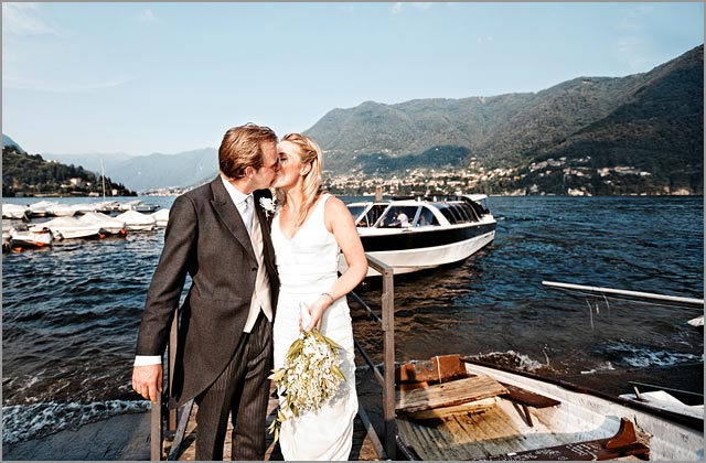 Royal wedding on Lake Como