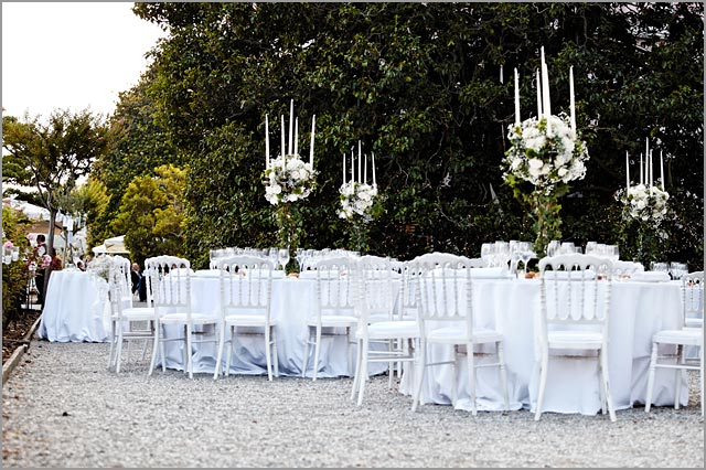 wedding reception in private villa near Cernobbio lake Como