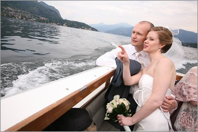 german wedding planner on lake Como