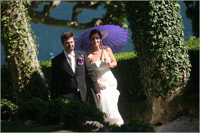 German wedding planner in Villa Balbianello lake Como
