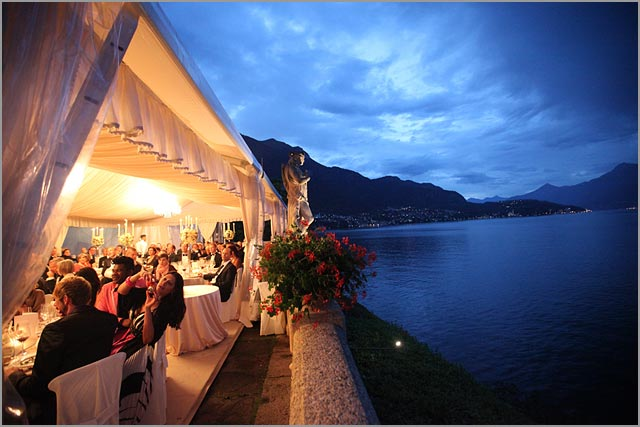 german wedding planner in Villa del Balbianello