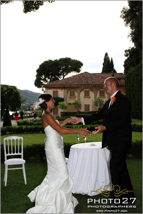 wedding catering in Cernobbio lake Como