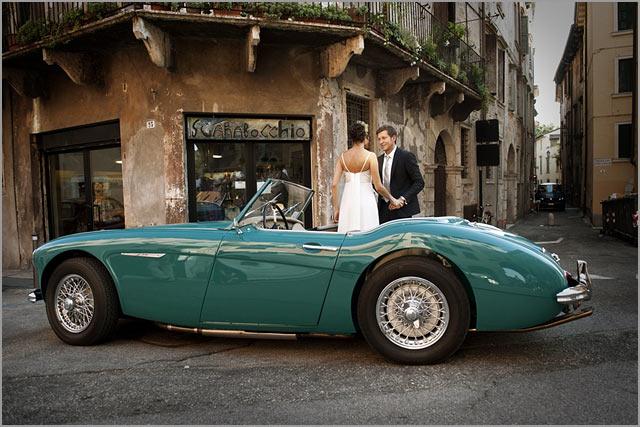 vintage car rentals in Verona