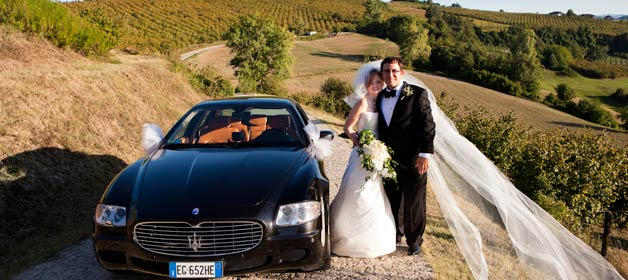 A wedding in the land of Barbaresco wine