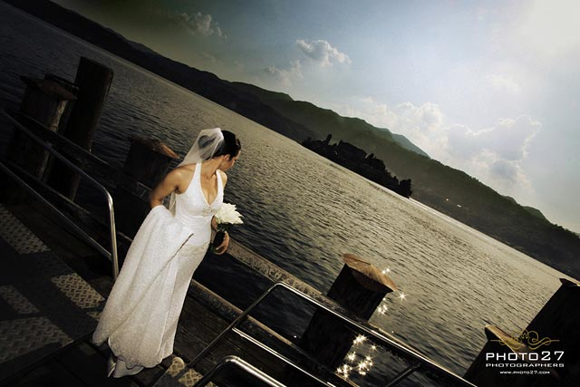 Lake Orta wedding photographers