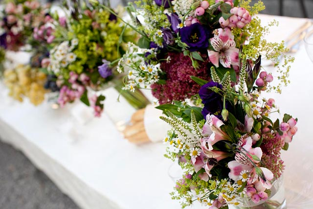 lake Como wedding florist