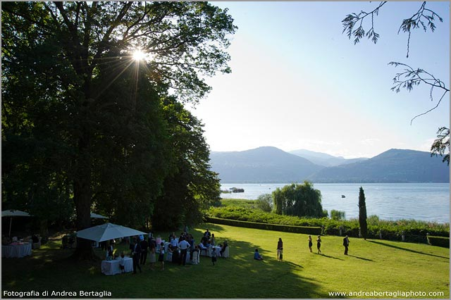 Villa Rocchetta wedding venue on Lake Maggiore shores