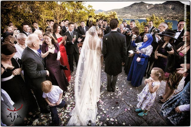 wedding to Novaglio church Lake Maggiore