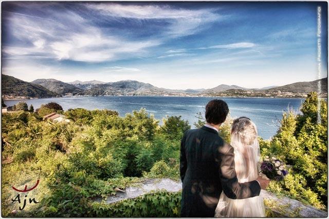 wedding to Villa Margherita lake Maggiore