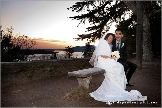 wedding to Sacro Monte church in Ghiffa Lake Maggiore