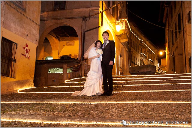 Christmas wedding in Italy