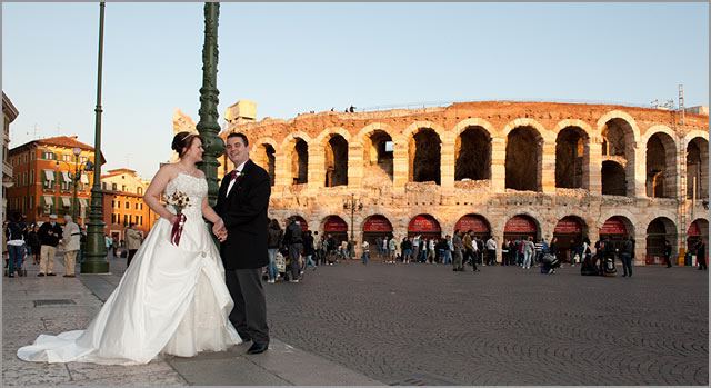 weddings to Arena of Verona