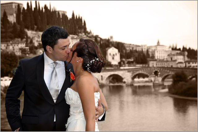 romantic weddings in Verona