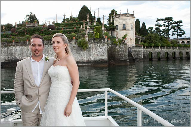 Stresa Isola Bella wedding planners