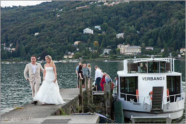 Hotel Verbano weddings on Pescatori Island lake Maggiore