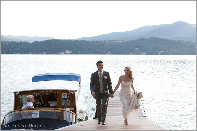 trattoria for wedding receptions on lake Orta