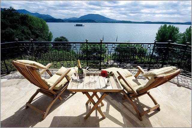 Villa Dal Pozzo wedding venue overlooking Lake Maggiore