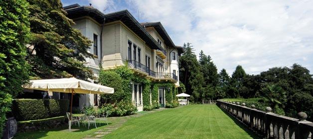 VILLA CLAUDIA DEI MARCHESI DAL POZZO, an amazing dream on Lake Maggiore