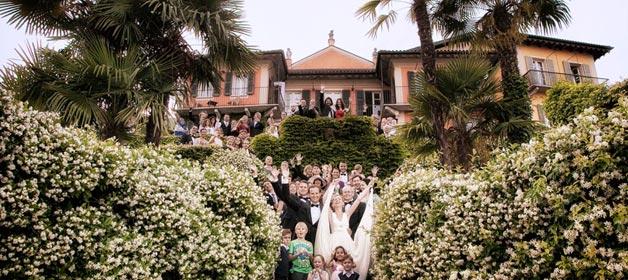 Eine romantische Hochzeit am Lago Maggiore