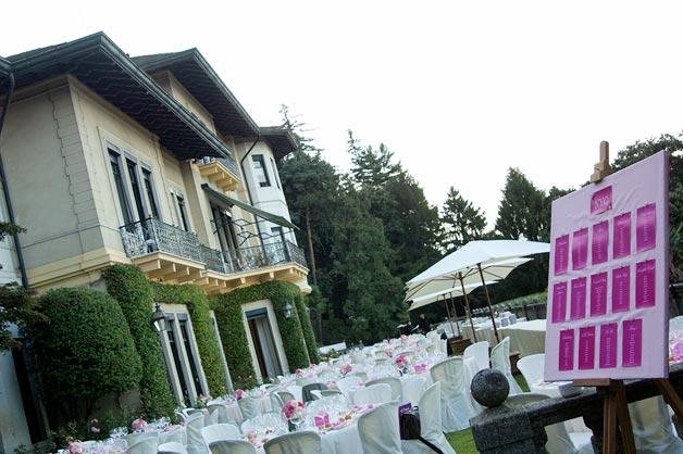 Villa Dal Pozzo Lake Maggiore weddings