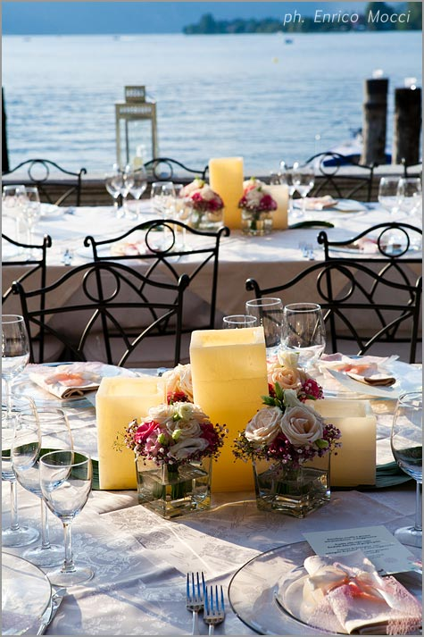 outdoor reception venues on Lake Orta Italy