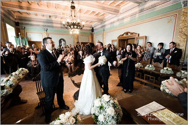 civil wedding in Trevignano lake Bracciano