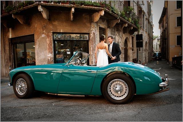 Italian Wedding Cars Hire On Lake Garda