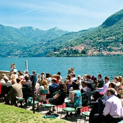 Ceremony on the lake shores
