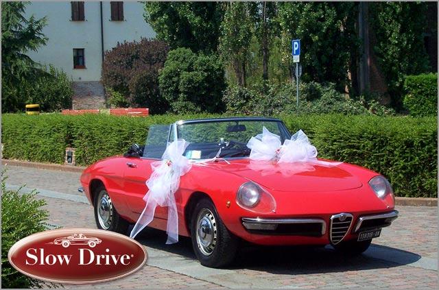 Alfa Romeo Vintage Cars Rental Lake Garda