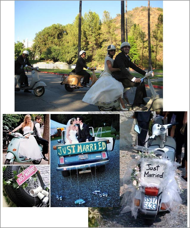 Vespa rental for Lake Garda weddings