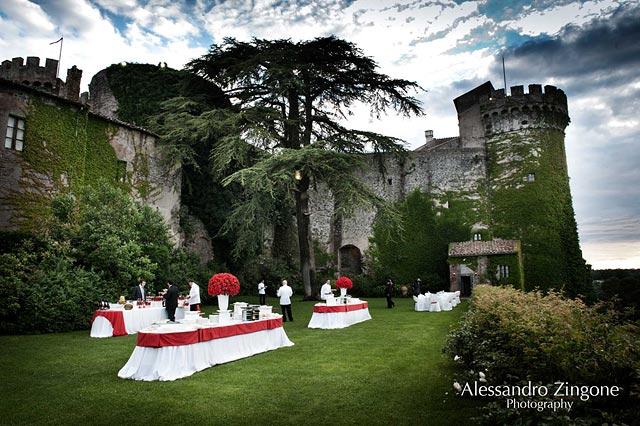 wedding at the Odescalchi Castle in Bracciano Rome
