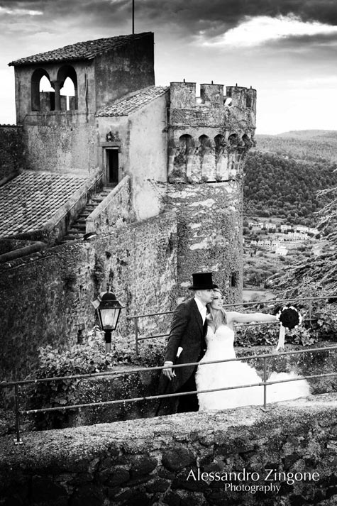 wedding at the Odescalchi Castle in Bracciano